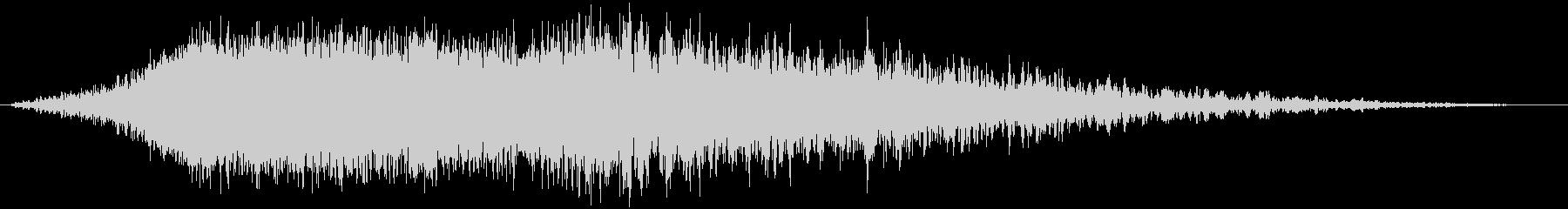 シューッという音EC07_84_5の未再生の波形