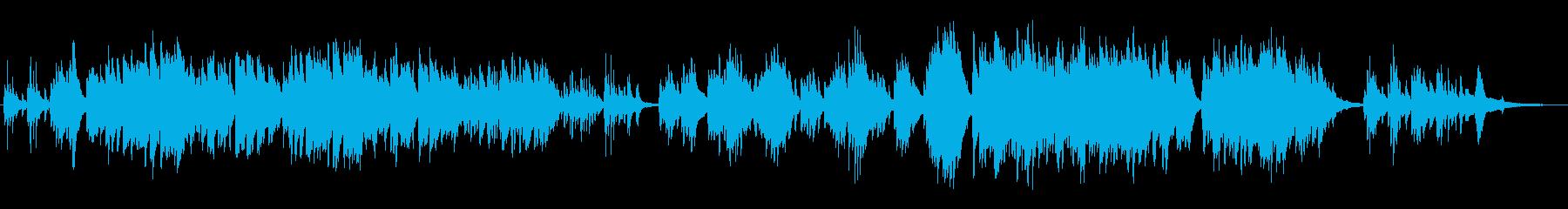 生ピアノで奏でる日本のうた:ゆりかごの歌の再生済みの波形