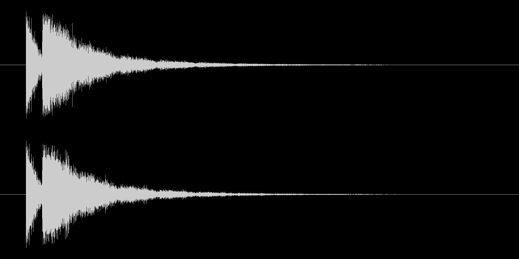 ビームライフル3★エコーリバーブ有の未再生の波形
