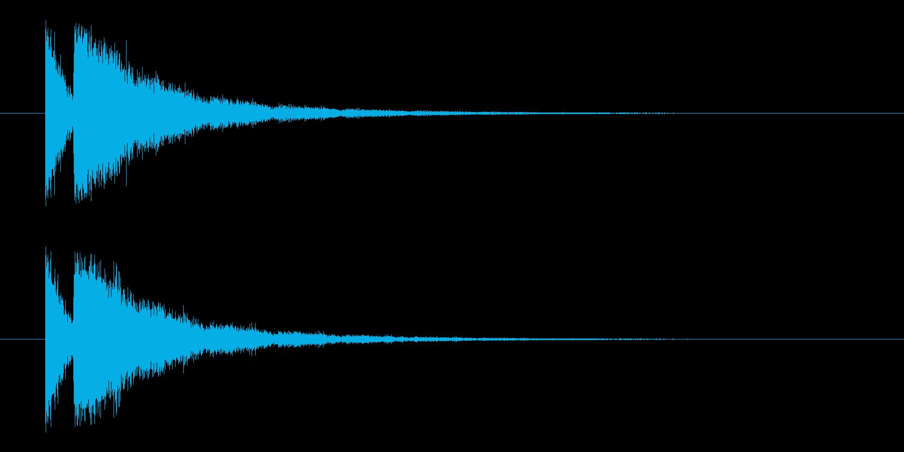 ビームライフル3★エコーリバーブ有の再生済みの波形