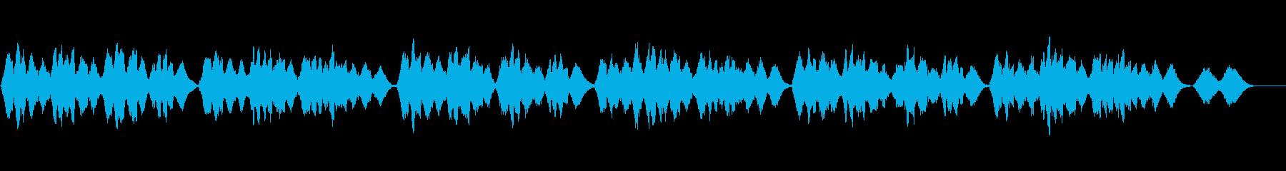 讃美歌428「またき愛たまう神よ」の再生済みの波形