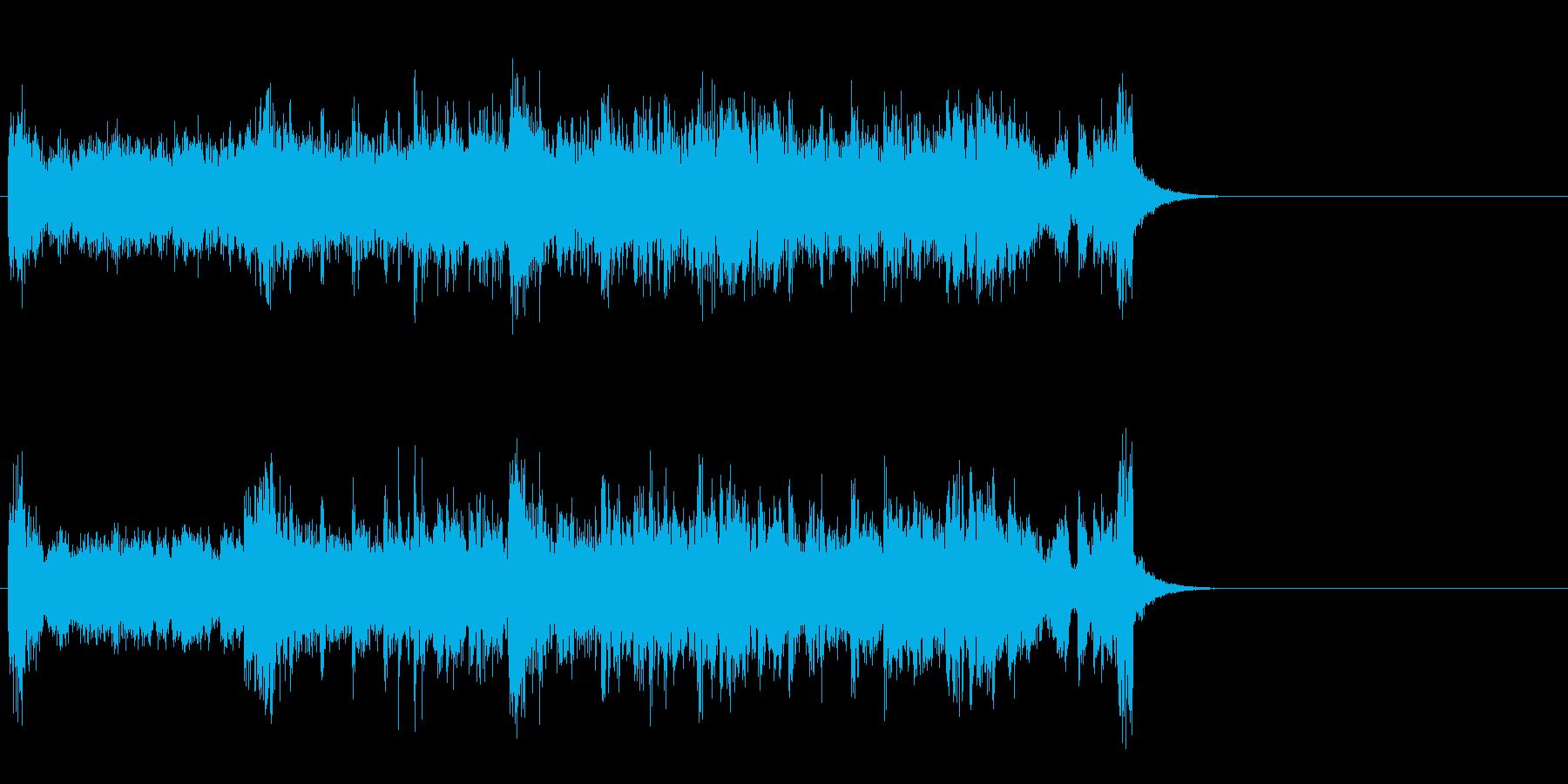 POP系一般ジングルの再生済みの波形