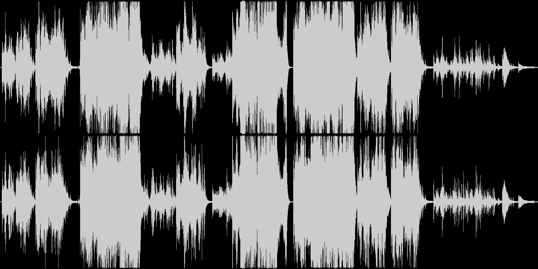 優しく幻想的な感動系ピアノ曲の未再生の波形