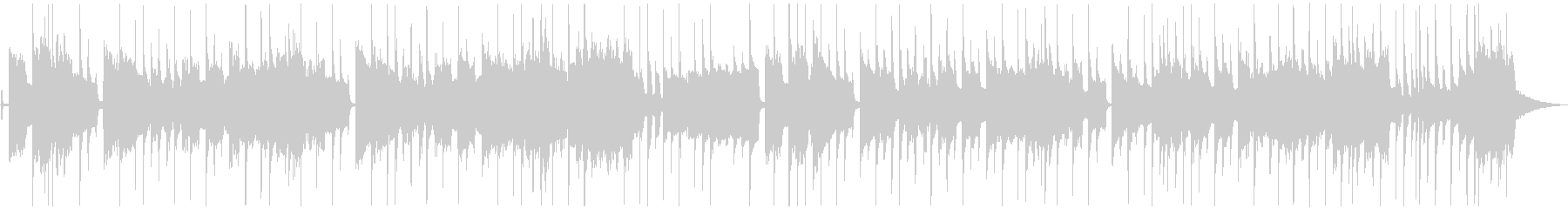 ノリノリ・ファンキー(メロあり)ショートの未再生の波形