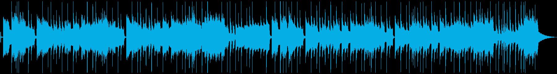 ノリノリ・ファンキー(メロあり)ショートの再生済みの波形