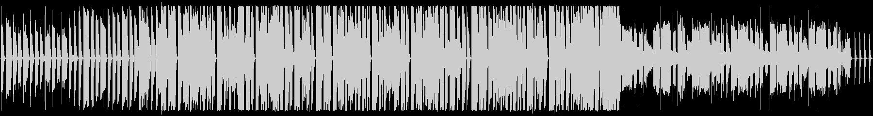 かわいいカントリーの未再生の波形