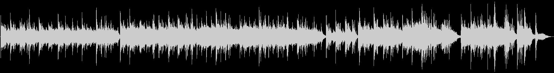 【秒で感動】しっとりピアノバラードの未再生の波形