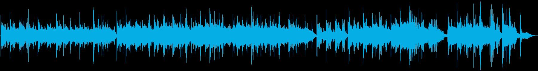 【秒で感動】しっとりピアノバラードの再生済みの波形