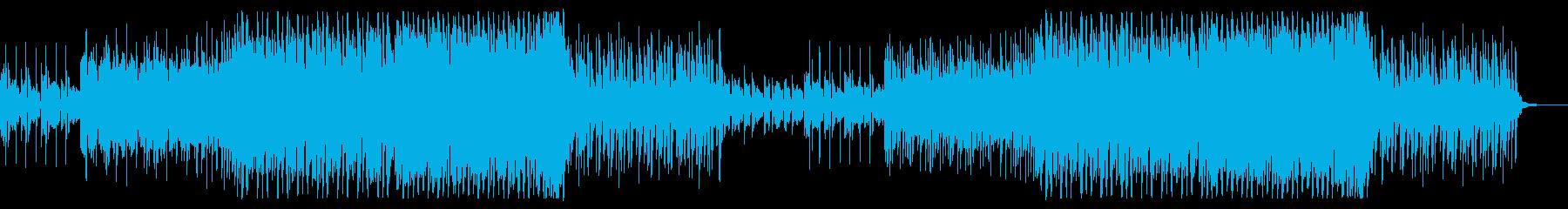 爽快、透明感のあるかわいいEDMの再生済みの波形
