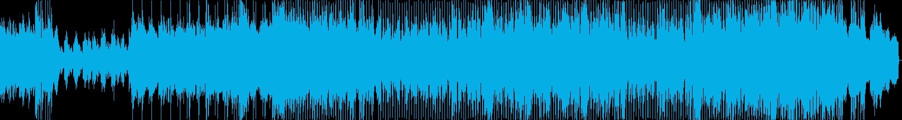 切ないゆったりとした雰囲気のバラードの再生済みの波形