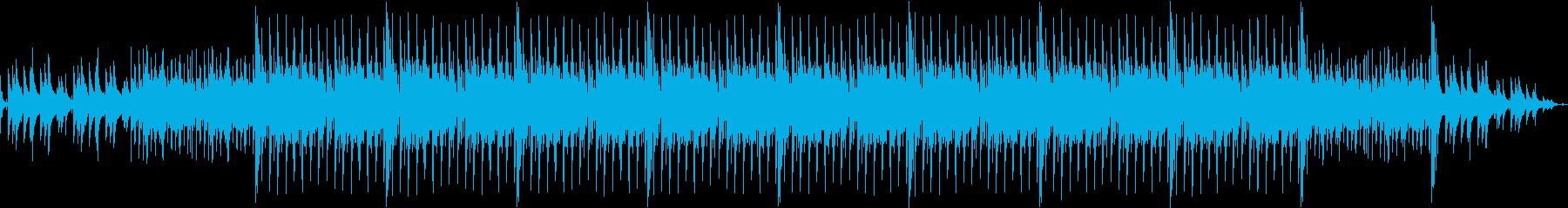 琴 太鼓 和風 お洒落の再生済みの波形