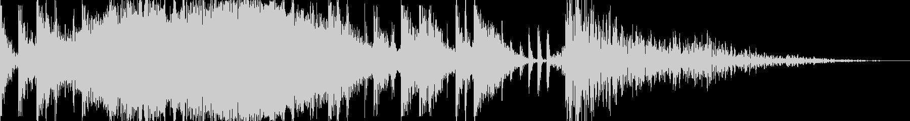レトロなベースシンセとエフェクトパ...の未再生の波形