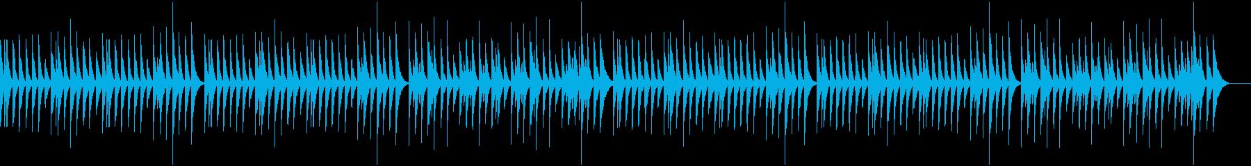 かわいい木琴、コミカルの再生済みの波形