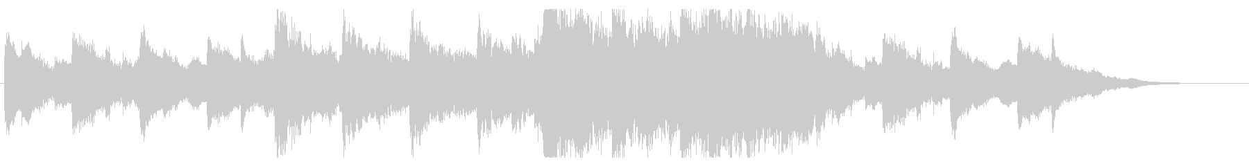 ラスボス戦でイベント中に流れる曲の未再生の波形