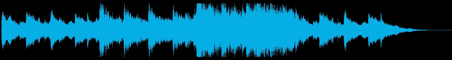 ラスボス戦でイベント中に流れる曲の再生済みの波形