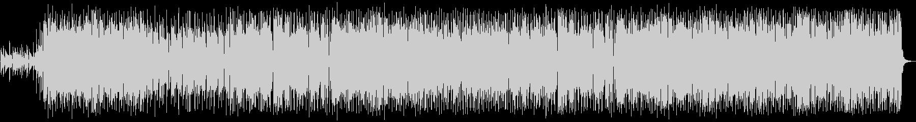 ピアノとギターのポップな癒し系BGMの未再生の波形