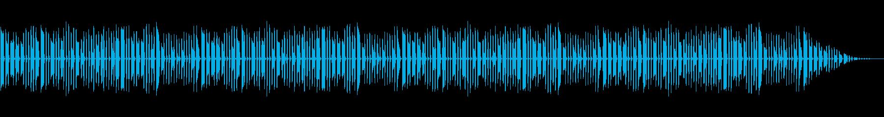 童謡「ちょうちょ」脱力系アレンジの再生済みの波形