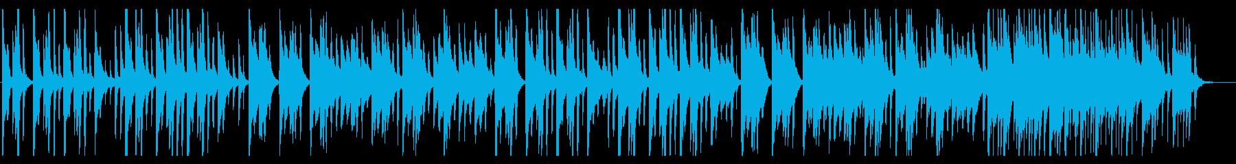 可愛い優しいほのぼのるんるん日常BGMの再生済みの波形