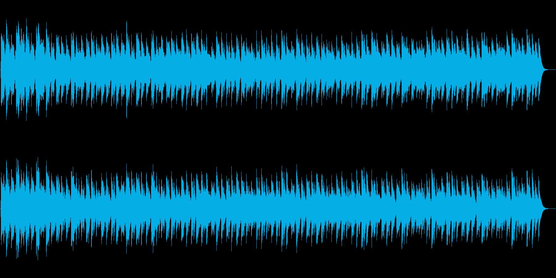 むすんでひらいての再生済みの波形