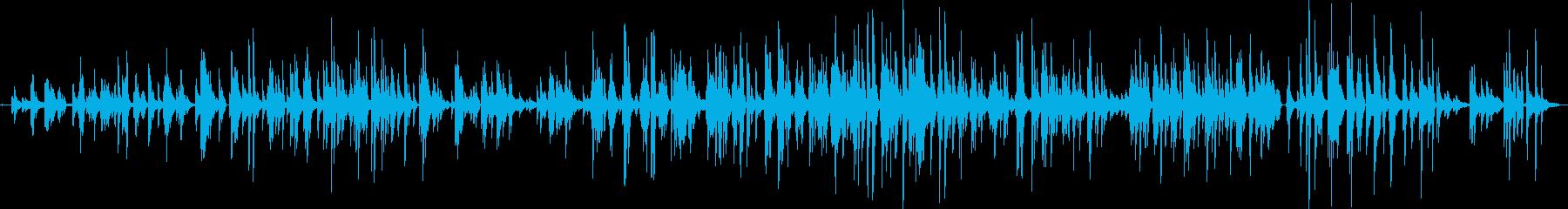 昔のジャズソロピアノの再生済みの波形