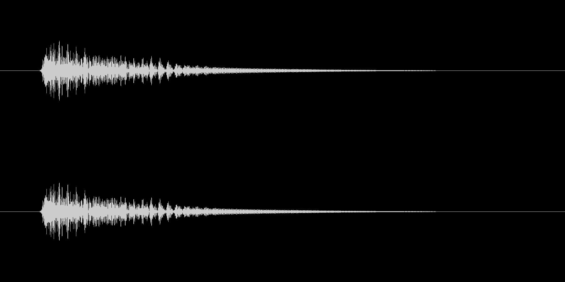 【ネガティブ09-3】の未再生の波形