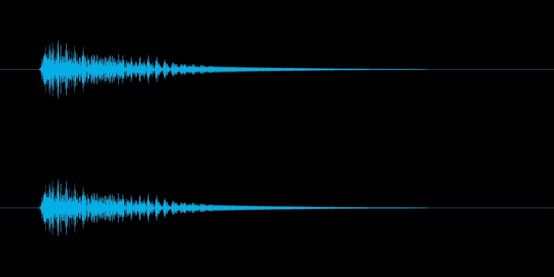 【ネガティブ09-3】の再生済みの波形