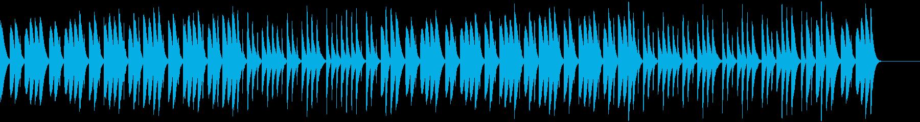 料理工作ゲームCM向けほのぼのBGMの再生済みの波形