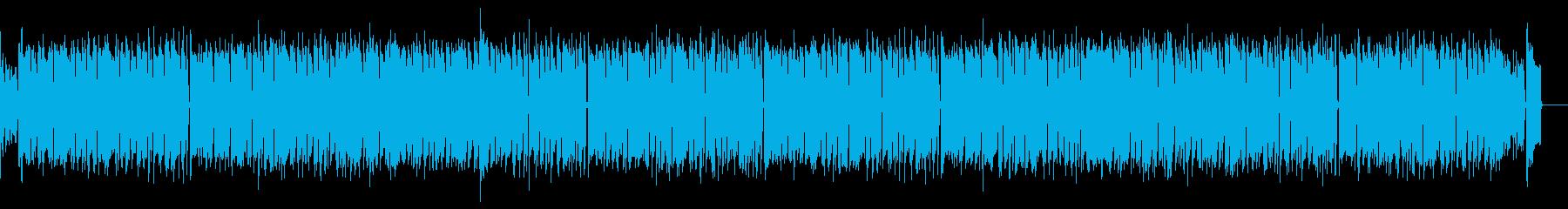 ほのぼのしつつ感動的なラグタイムピアノの再生済みの波形