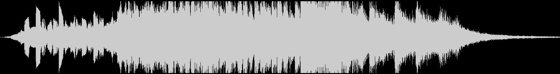 エレクトロ 交響曲 ドラマチック ...の未再生の波形