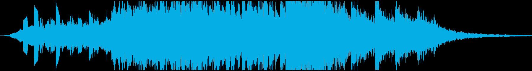 エレクトロ 交響曲 ドラマチック ...の再生済みの波形