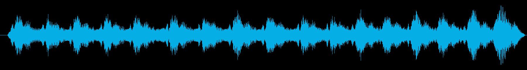 レーシング 車 F1 エンジン回転...の再生済みの波形