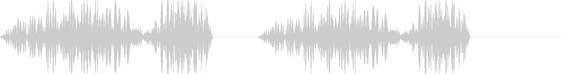 DJプレイ スクラッチ・ノイズ 250の未再生の波形