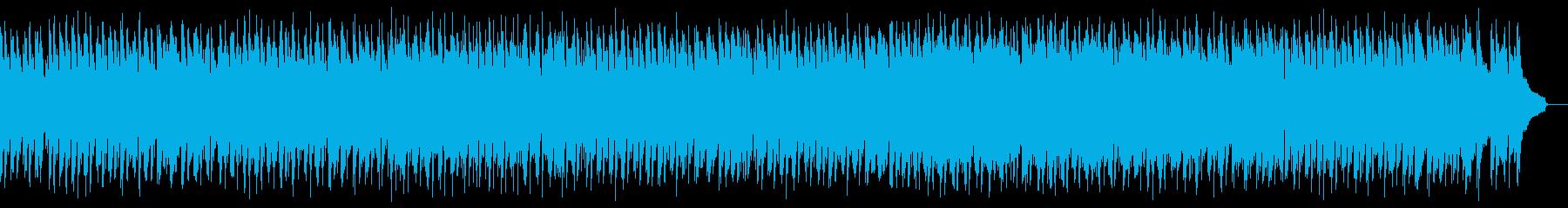 ボサノバ ジャズ ナイロン弦ギター の再生済みの波形