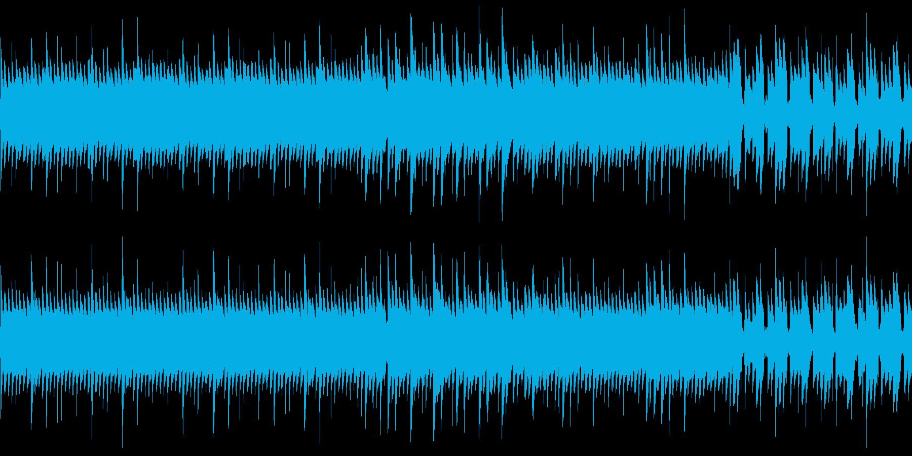 8bit ダークファンタジーな1分ループの再生済みの波形
