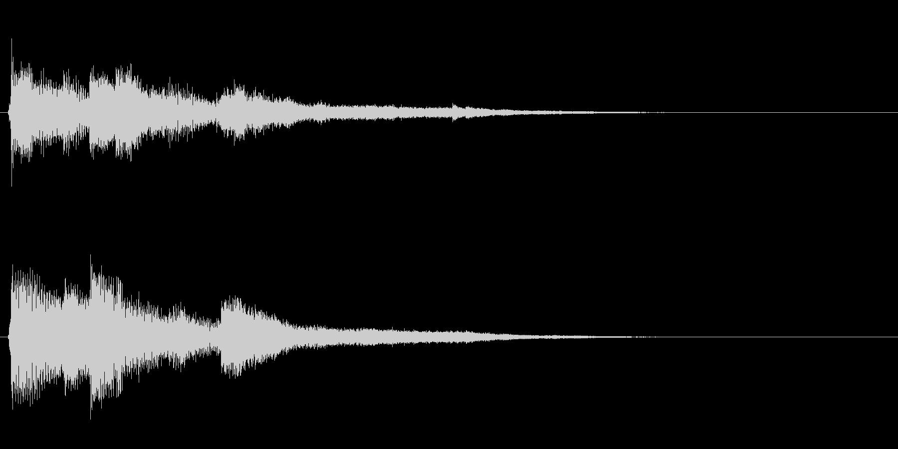 ピアノジングル02_dの未再生の波形