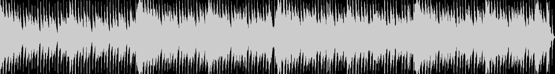 メルヘンチックな可愛いループBGMの未再生の波形