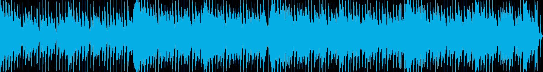 メルヘンチックな可愛いループBGMの再生済みの波形