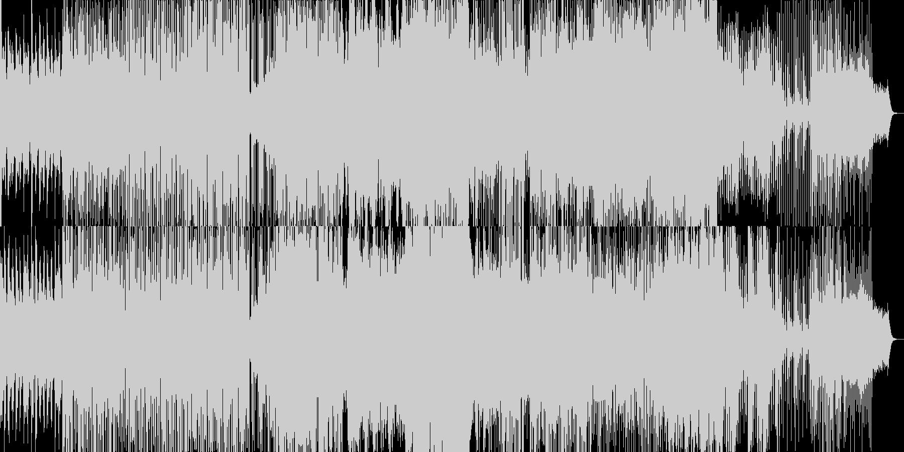 ウェットでドラマティックなBGMの未再生の波形