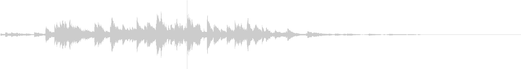 音侍SE「キラキラリーン」小ぶりベル_1の未再生の波形