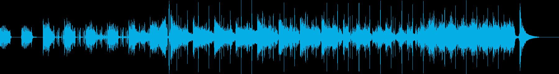 最先端のBGMの再生済みの波形