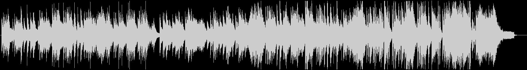琴とピアノの日本的で和風なBGMの未再生の波形