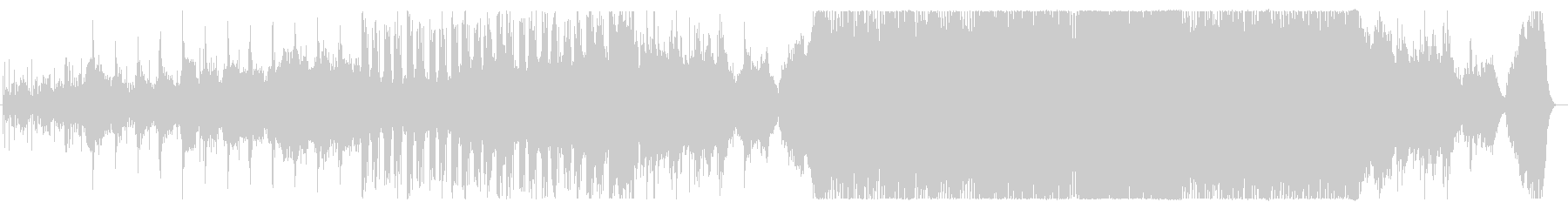 現代的なハイブリッドオーケストラサウンドの未再生の波形