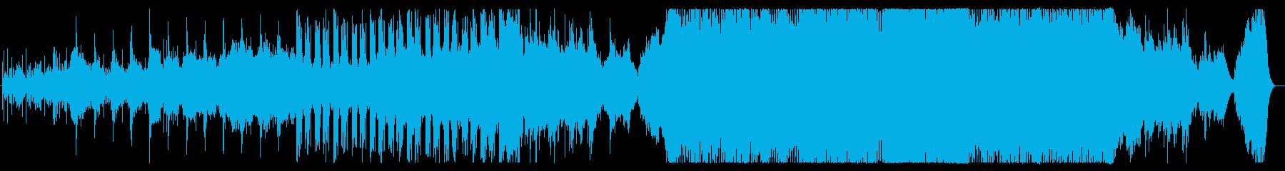 現代的なハイブリッドオーケストラサウンドの再生済みの波形
