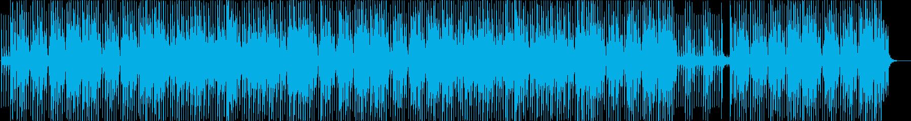 キラキラした夏のVaporwaveの再生済みの波形