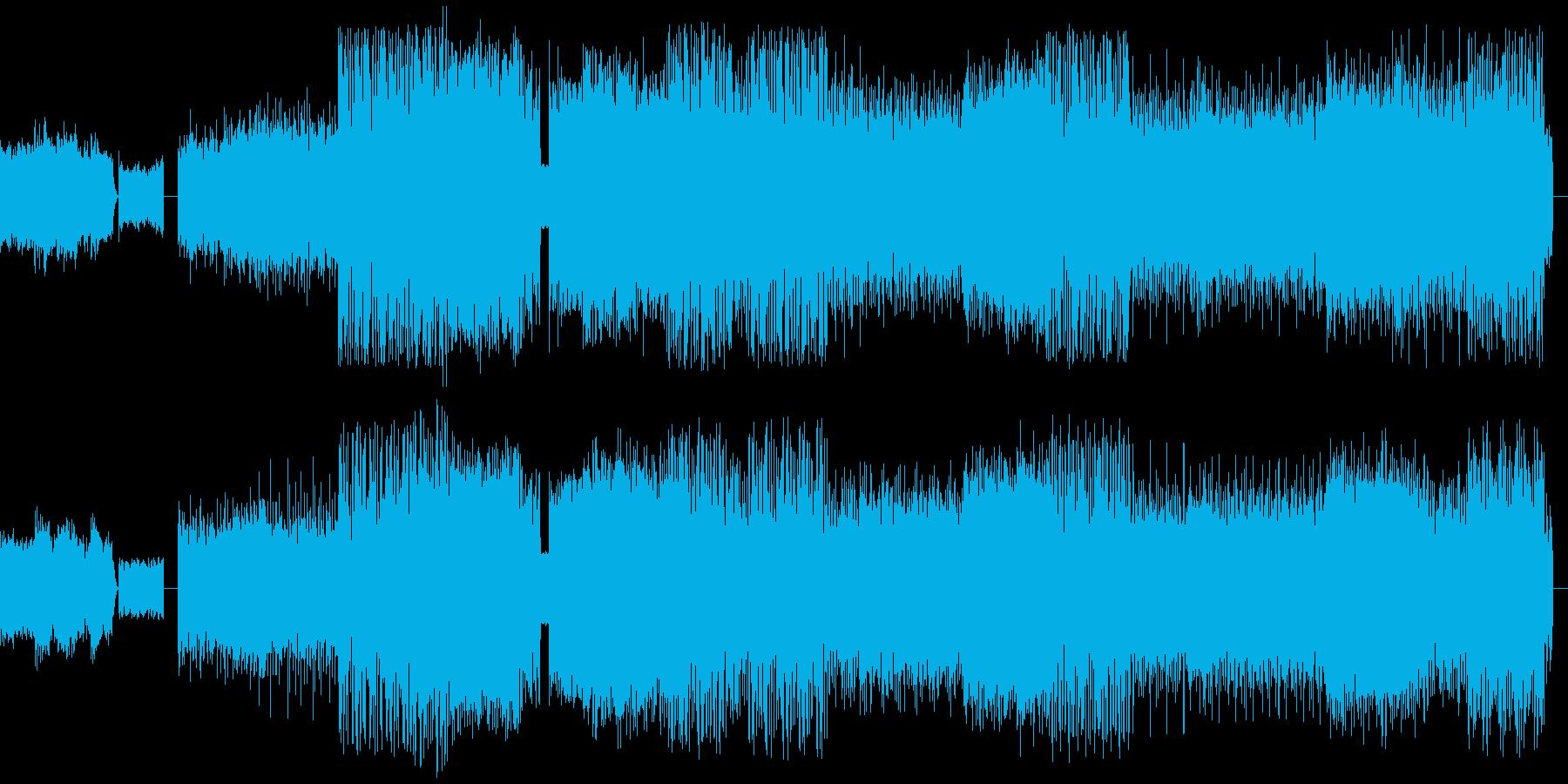 EDM  トランス パーティーやクラブ…の再生済みの波形