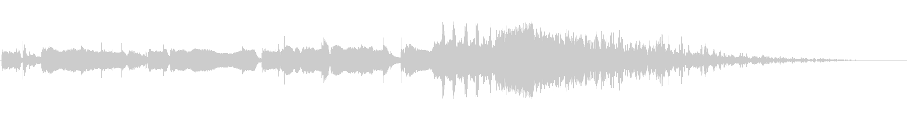 ウェイクアップブラームスIDベッド3の未再生の波形