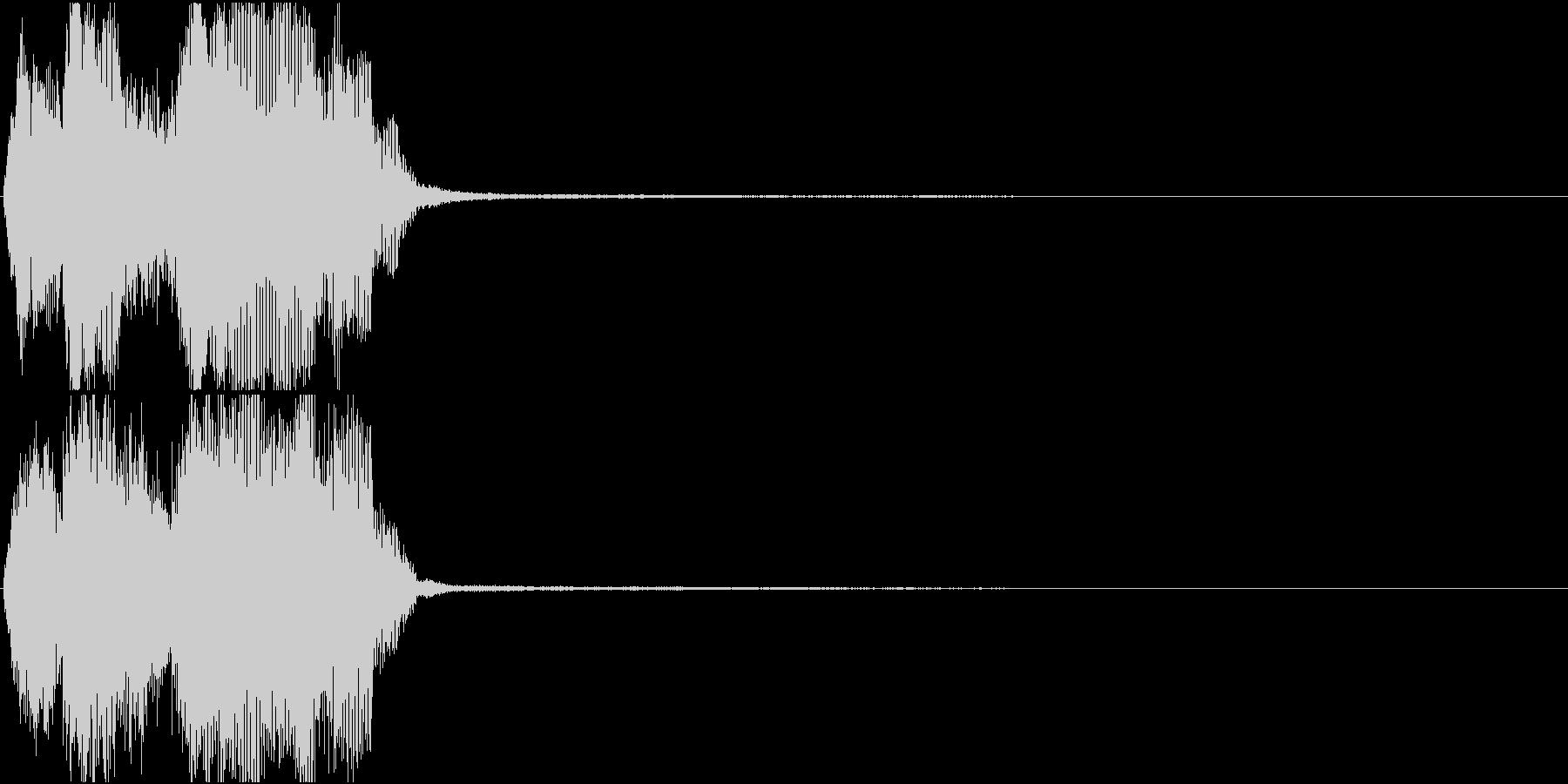 トランペット ファンファーレ 定番 23の未再生の波形