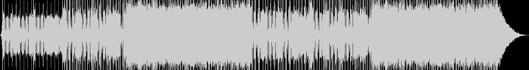 エネルギッシュなインディーロックの未再生の波形