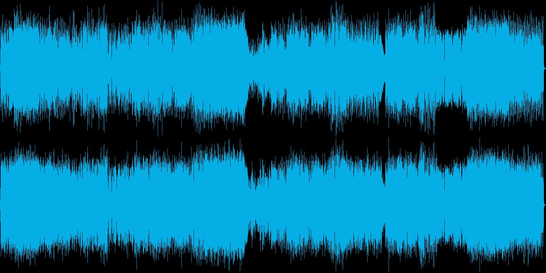 ブラスセクションの効いた疾走感の再生済みの波形