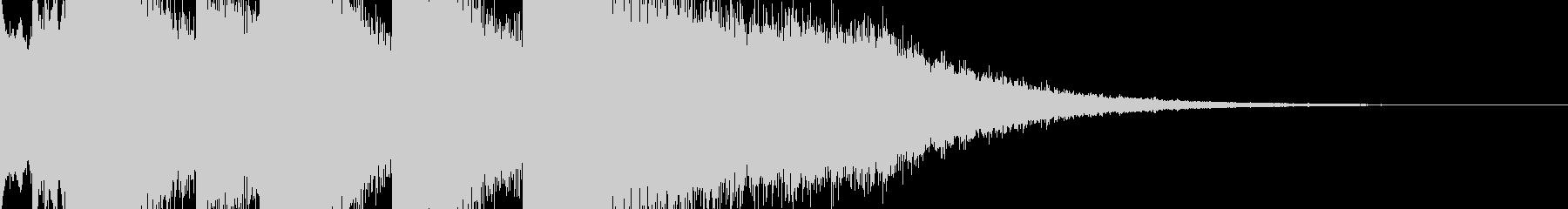 Title sound / scene change for video production ♪'s unreproduced waveform